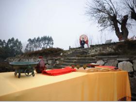 第二届四川同袍冬至敬天祈福祭祀典礼在成都举行