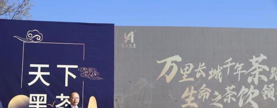 """万里长城千年茶路 生命之茶""""饮""""领健康安化黑茶历史文化推介会在长城脚下举行"""