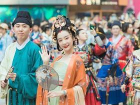 广州汉服节弘扬传统文化