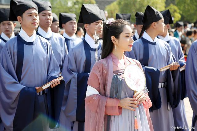 沉淀了五千年文明的汉服,通过汉服传承汉文化!