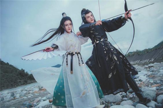 """月怀玉打造汉服界""""网红""""品牌"""